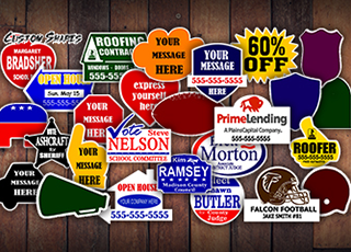 Real Estate Die-Cut Signs