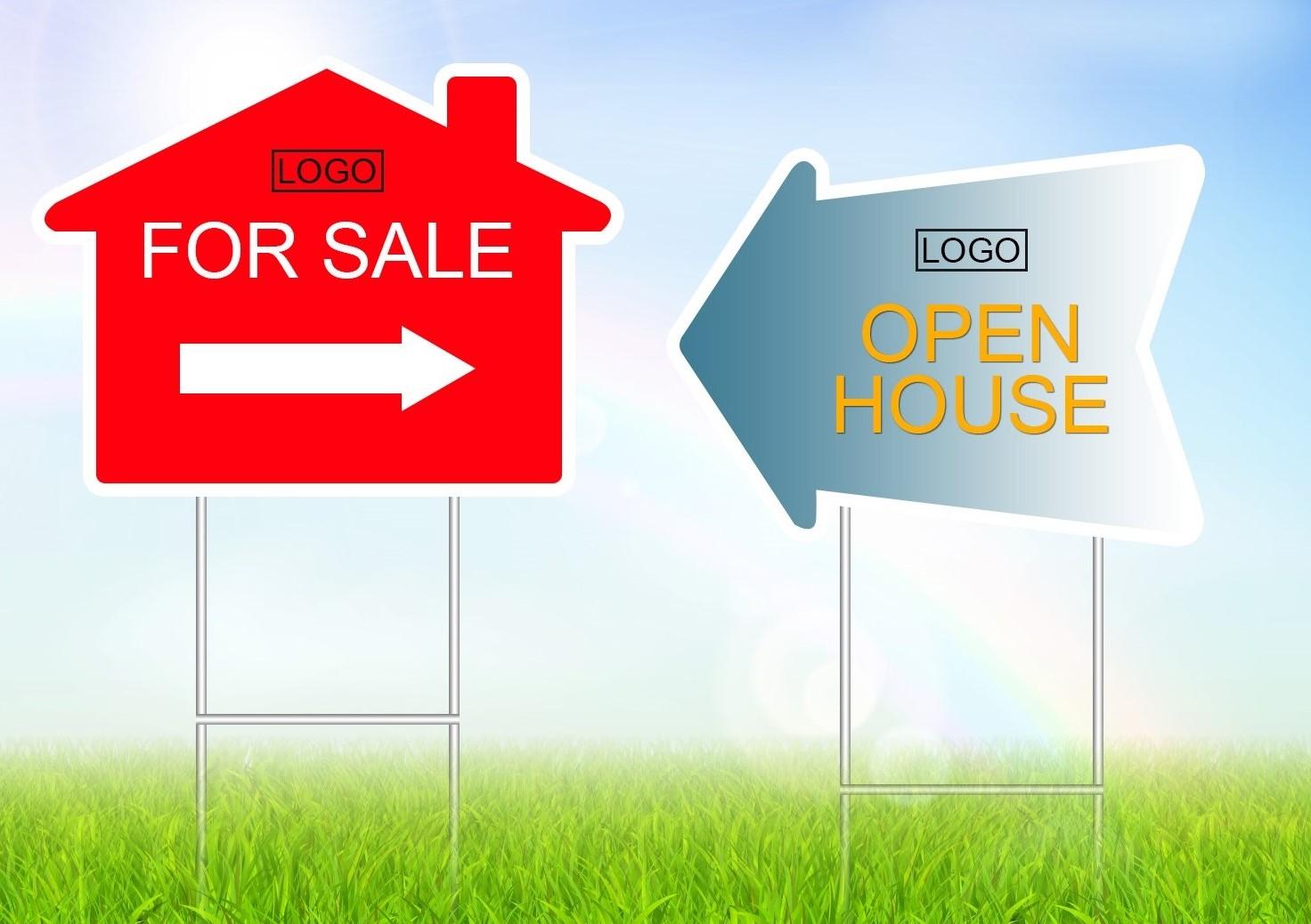 Real Estate Die-Cut Signs