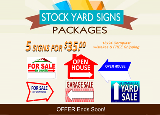 Stock Yard Signs